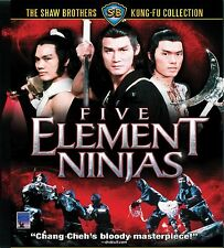 FIVE ELEMENT NINJA - Celestial Pictures Edition BLU RAY  Toky Shock Version NEW