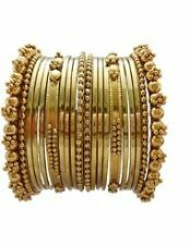 Girls Designer Party wear fancy design Antique 20 pc bangle set (size 2.6)