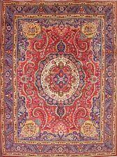 "Great Condition Geometric 8x11 Tabriz Persian Oriental Area Rug 11' 2"" x 8' 4"""
