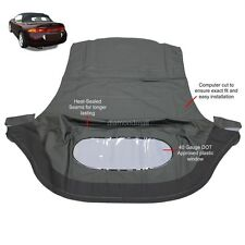 Mitsubishi Eclipse Spyder Convertible Top & Plastic Window 95-99 Black Twill