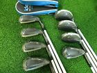 New Adams IDEA Tech Combo Irons 3h-PW All Graphite Regular flex iron set
