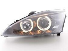Coppia Fari Fanali Anteriori Tuning Angel Eyes Ford Focus 01-02 nero