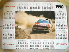 Toyota Celica GT4 - poster Patrick Snijers - 1990