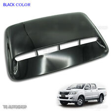 Black Scoop Fake Turbo Bonnet Cover For Toyota Hilux Vigo Champ Mk7 2012-2014