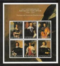 Dominica MNH 2000 400th ANV di Van Dyck (PITTORE) MINISHEET