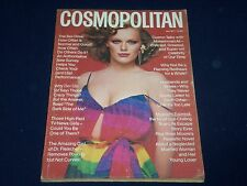 1977 JULY COSMOPOLITAN MAGAZINE - PATTI HANSEN - FASHION SUPER MODELS - O 1069