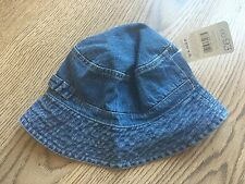 Mothercare Baby Denim Sunhat, Boys/Girls 12-24 Months, 1-2 Yrs
