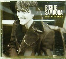 RICHIE SAMBORA 'IN IT FOR LOVE' 3-TRACK CD SINGLE MRCURY 566 063 - 2