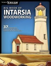 Best of Scroll Saw W Ser.: Big Book of Intarsia Woodworking : 37 Projects and...