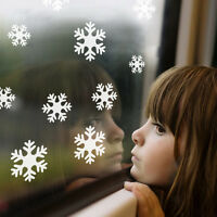 White Snow Snowflake Fashion Wall Sticker Decal Window Vinyl Art Christmas Decor