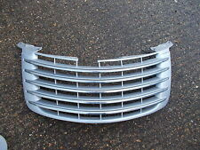 CHRYSLER PT CRUISER FACE-LIFT MODELS 2006 - 2010 SILVER AND CHORME FRONT GRILLE