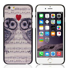 """Fashion Owl Note Love Hard Waterproof Back Plastic Case Cover For iPhone 6 4.7"""""""