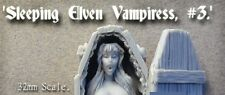 Monolith Models Sleeping Elven Vampiress With Horizontal Coffin