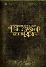 The Lord of the Rings - The Fellowship of the ring  4 DVDs - extended, english