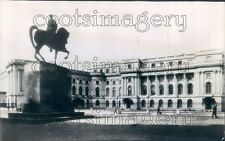 1944 Royal Palace Revolution Square 1940s Bucharest Romania Press Photo