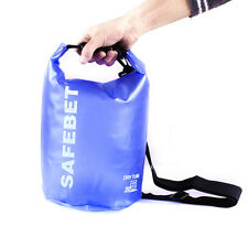 New 5L Waterproof Shoulder Bag PVC Dry Pouch Kayaking Drifting Boating Swimming
