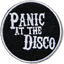 Panic At The Disco Embroidered Iron On Shirt Bag Jacket Badge Patch