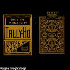 British Monarchy Tally-Ho Deck Playing Cards Poker Size USPCC Custom Limited New