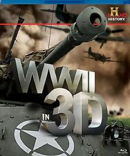 WWII In 3D (Blu-ray, 2012) New Region B