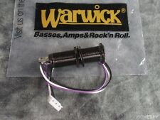 NEW WARWICK INPUT STEREO JACK BLACK M50100BR4 WITH WIRE STREAMER GUITAR PART