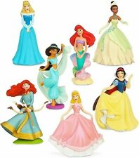 *DISNEY PRINCESS Figure Set PVC TOY Cake Topper FIGURINE ARIEL Merida JASMINE!*