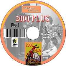 2000 Plus (Two Thousand 2000+) -17 episodes Old Time Radio Shows - MP3 CD SciFi