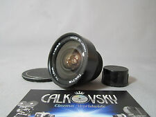 TOKINA SUPER WIDE ANGLE! FAST! 1.8/6.5mm C-MOUNT LENS 16MM MOVIE CAMERA RARE!