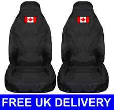 CANADA FLAG CAR SEAT COVERS PROTECTORS UNIVERSAL FIT - Canadian Maple Leaf