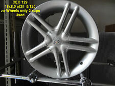 GENUINE CEC 129 WHEEL 18x8 INCH 5x120 BMW HOLDEN ALLOY RIM MAG SPARE E36 E46 E92