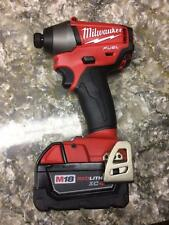 "NEW Milwaukee M18 FUEL 2653-20 1/4"" Hex Impact Driver XC4.0 RedLithium Battery"