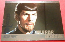 "STAR TREK TOS 50th Anniversary - MM5 ""MIRROR, MIRROR"" (uncut) - Foil Chase Card"