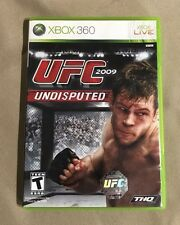 UFC 2009 Undisputed (Microsoft Xbox 360, 2009) With Manual