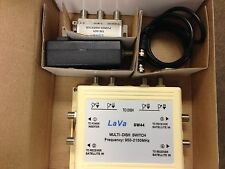 Brand New SW 44 Multi-Dish Switch with Power Inserter