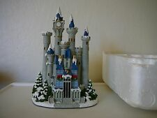 "2008 RARE HAWTHORNE VILLAGE DISNEY MAGIC CASTLE HOLIDAY SCULPTURE-9"" Height"