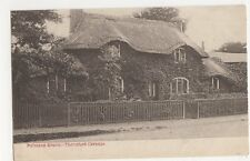 London, Thatched Cottage Palmers Green Postcard #2, B179