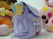 Dora The Explorer Backpack Plush with Map Preschool Rescue Bag Kids Girls Bags