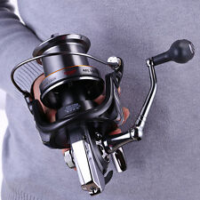 Large Spinning Saltwater Fishing Reels AFL10000 Alloy Fishing Tackle Reels Gear