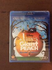 James and the Giant Peach(Blu-ray/DVD,2010 2-Disc Set,Special Edition).