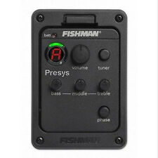 FISHMAN PRESYS 101 CLASSIC ACOUSTIC GUITAR PREAMP EQ PICKUPS TUNER