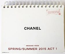 Chanel Runway Catalogue Look Book Message Mode Spring/ Summer 2015 Act 1
