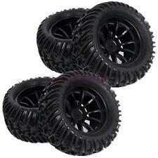 RC 1:10 Off-Road Monster Bigfoot Truck Foam Rubber Tyres Tires & Wheel Rim 88010