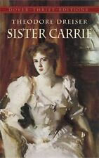 Sister Carrie Dover Thrift Editions - Theodore Dreiser - Paperback