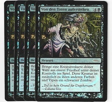 Magic the Gathering 99 Von den Toten auferstehen Gatway Promo Foil Playset (4)