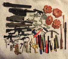 Action Figure Toy Weapon Lot Guns Swords Shields Rifles Missiles Bombs FreeShipn