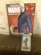 CLASSIC MARVEL FIGURINE COLLECTION 116 THE CHAMELEON FIGURE BOXED WITH MAG