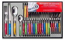 Ménagère 24 Pièces Laguiole Production 438580 Couverts de Table Multicolore Neuf