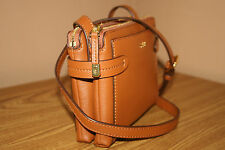 Lauren Ralph Lauren Women's Handbag/ Cross body/Purse Tan Crawley Double Zip NWT