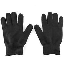 Polyester Stainless Steel Wire Metal Mesh Gloves Cut Resistant Outdoor Safety