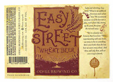 Odell Brewing Co EASY STREET WHEAT BEER label CO 12 oz Var. #3