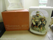 Original 1974 Norman Rockwell by Gorham 'Old Mill Pond' figurine